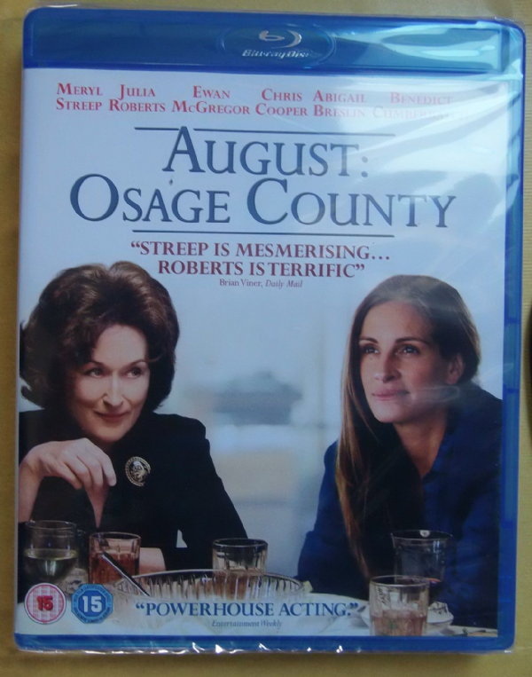 August Osage Count BLU - RAY 2013 (NEW N SEALED